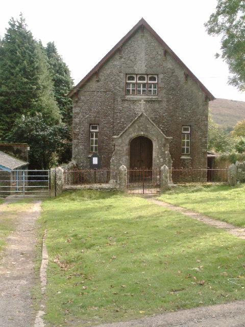 Methodist Chapel ,  Belstone ,  Dartmoor