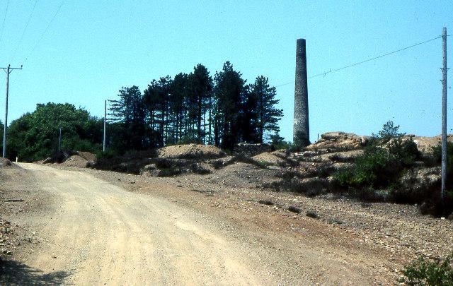 Former Devon Gt Consols mine 1978
