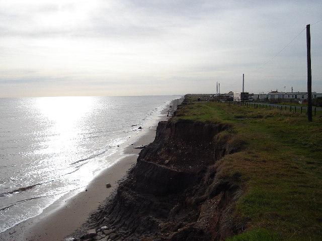 Cliff top at Ulrome