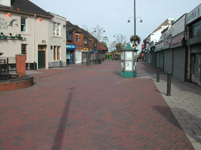 Shopping Area, Kirkby in Ashfield