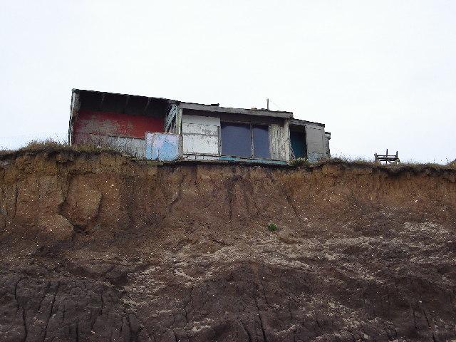 Coastal Erosion south of Ulrome