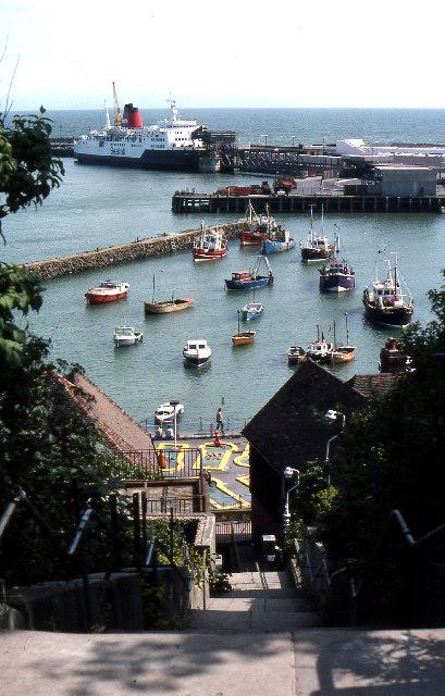 Folkestone Harbour 1980
