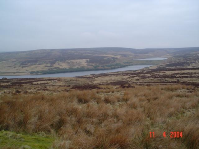 Walshaw Dean reservoirs.