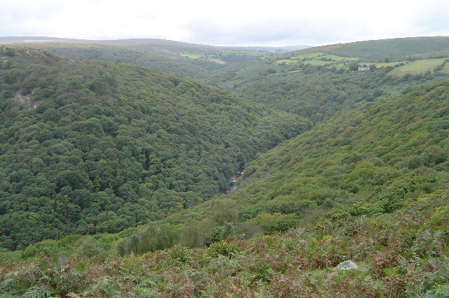 River Dart valley from Dr Blackall's Drive