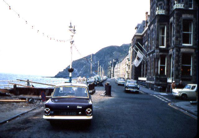 Victoria Terrace, Aberystwyth 1969