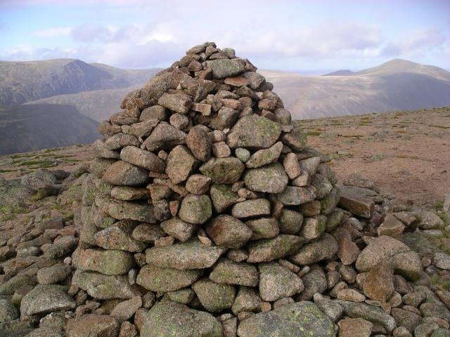 Beinn a' Chaorainn : Munro No 58