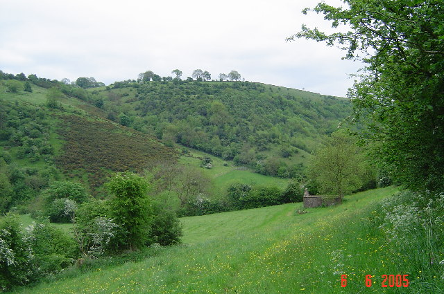 River Hamps valley