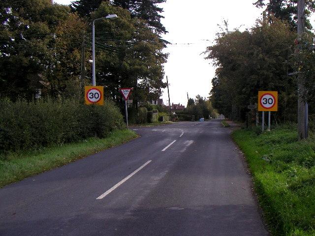 Swanland road junction