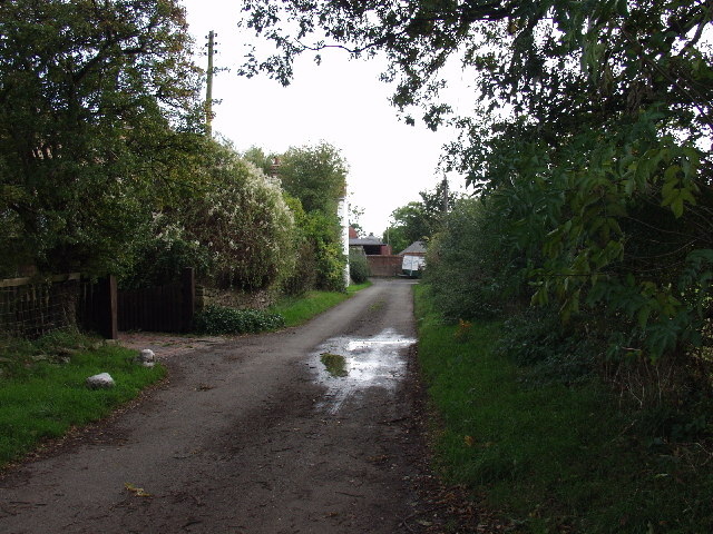 Approach to Pentre Farm