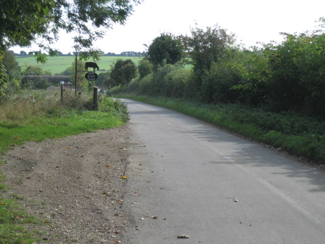 Road to New Barn Farm