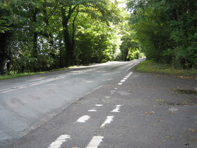 A272 looking south-east