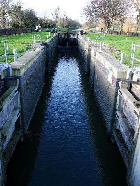 Ashline Lock, Whittlesey, Cambs
