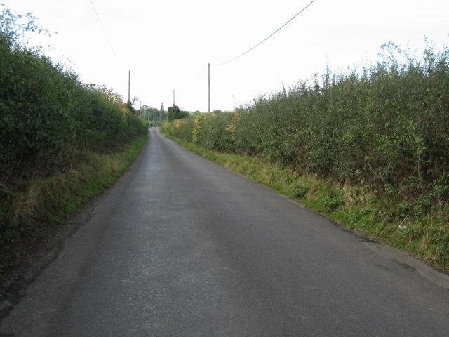 Road looking east