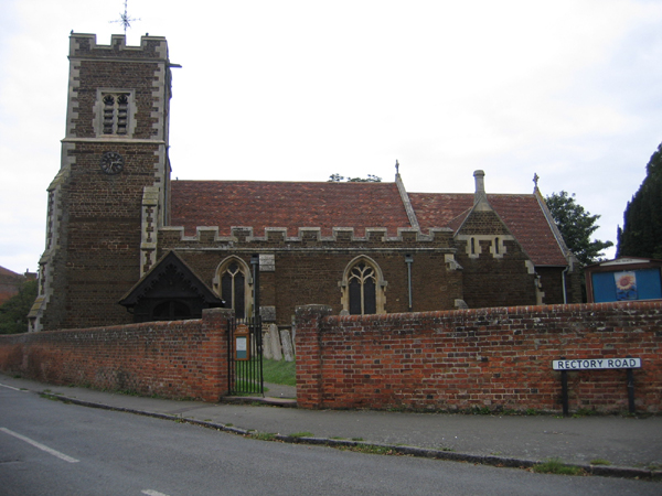 All Saints' parish church, Campton, Beds