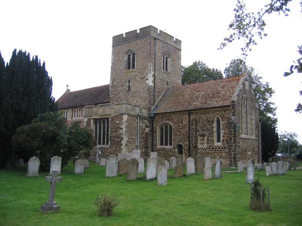 Meppershall parish church, Beds