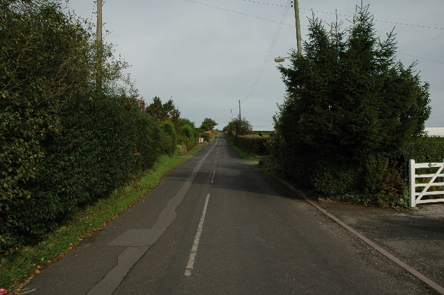 New Pale Road near Mouldsworth
