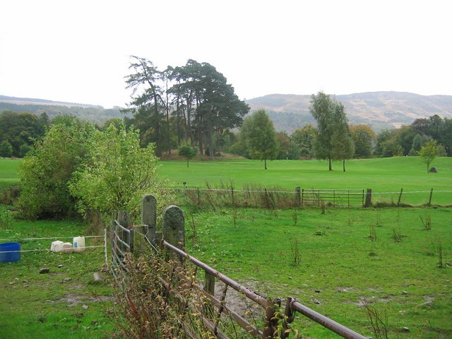 Golf course, Taymouth.