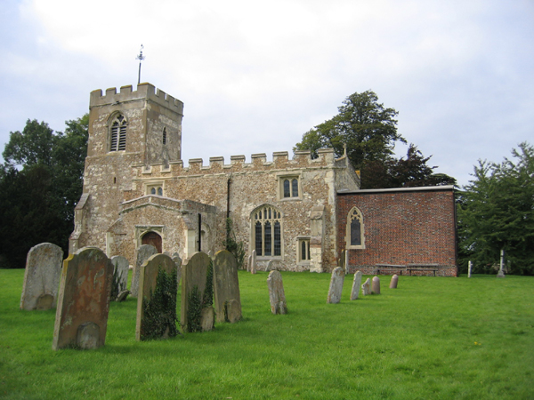 Hinxworth parish church, Hertfordshire