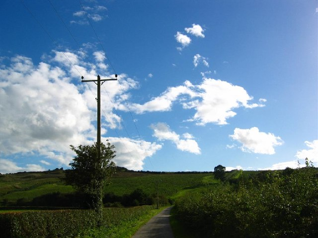 Blue Skies over Eddisbury Hill