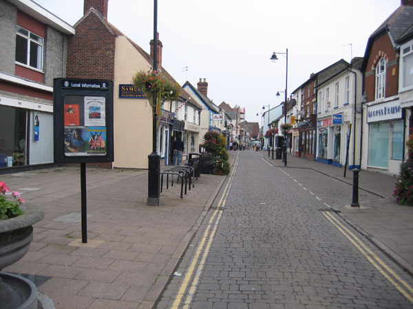 Queen Street, Haverhill, Suffolk