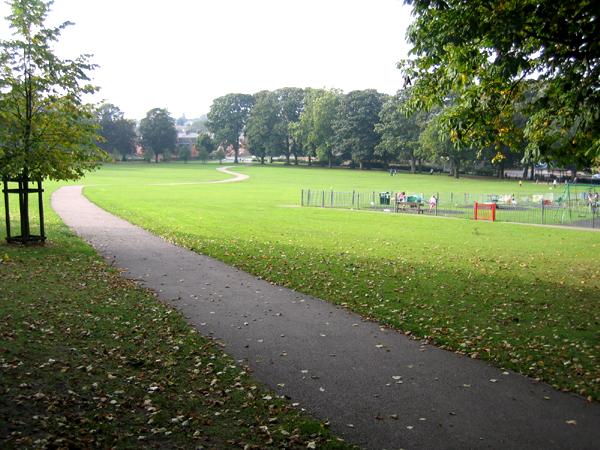The recreation ground, Haverhill, Suffolk