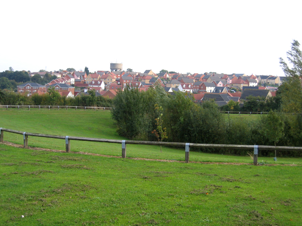 The town of Haverhill, Suffolk