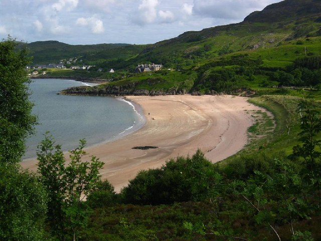 Gairloch Beach from near An Ard