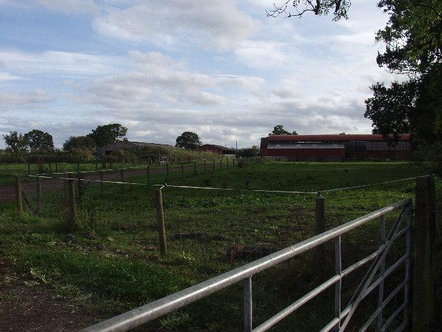 Farm Buildings at  Park Eyton Farm