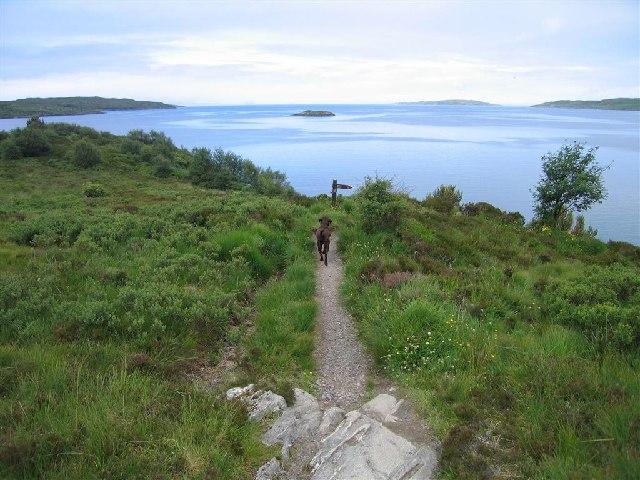 Footpath to Gairloch Beach