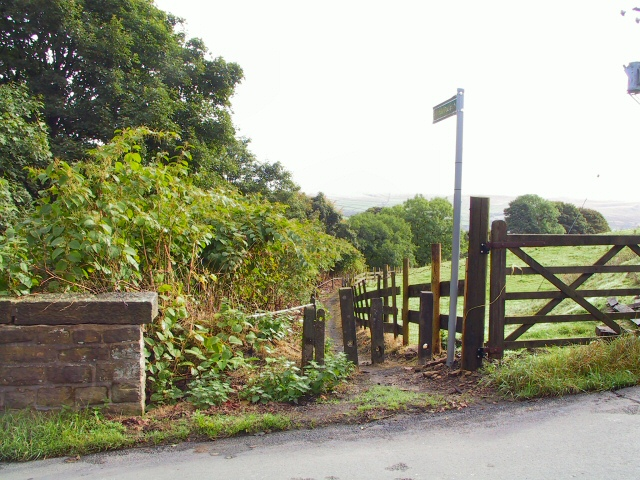 Thurston Clough Footpath