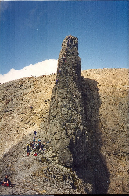 Eastern Ridge, Inaccessible Pinnacle