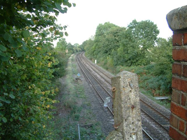 The Railway under the 'Devil's Highway'