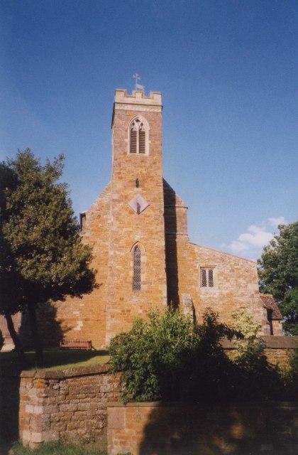 Stoke Dry Church