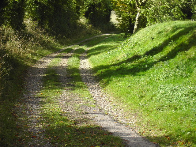 Entrance to Bridleway