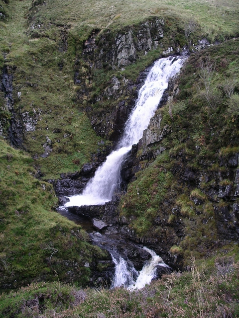 Waterfall, Tail Burn