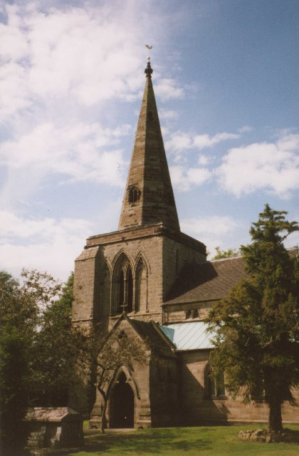 Weston upon Trent Church