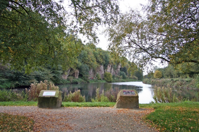 Creswell Crags and Crags Pond