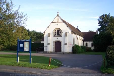 Catholic church at Send