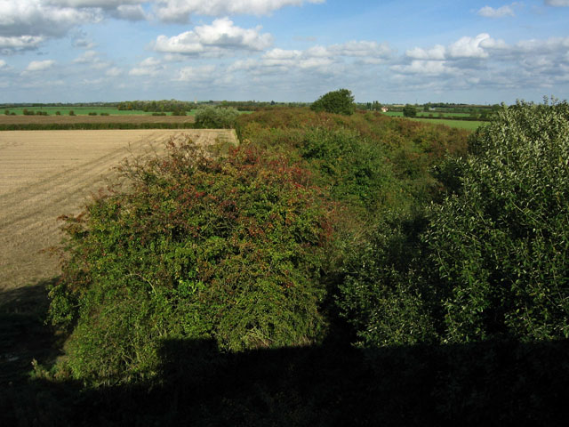 Old railway track, Vale of Belvoir