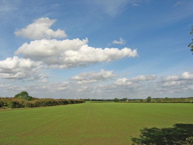 Vale of Belvoir farmland