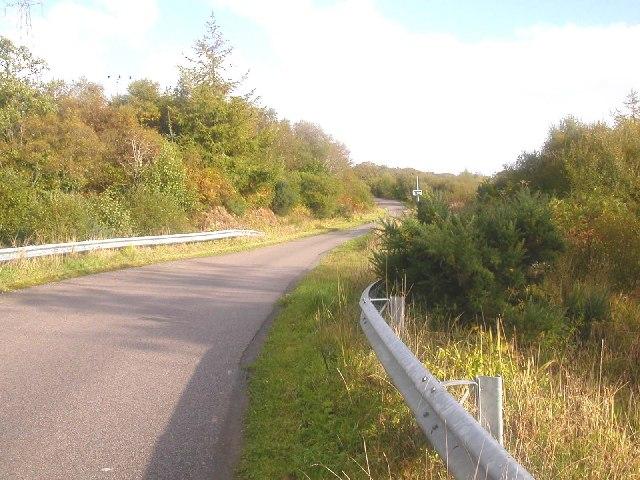 Closeburn on the B842 north of Carradale, Kintyre.