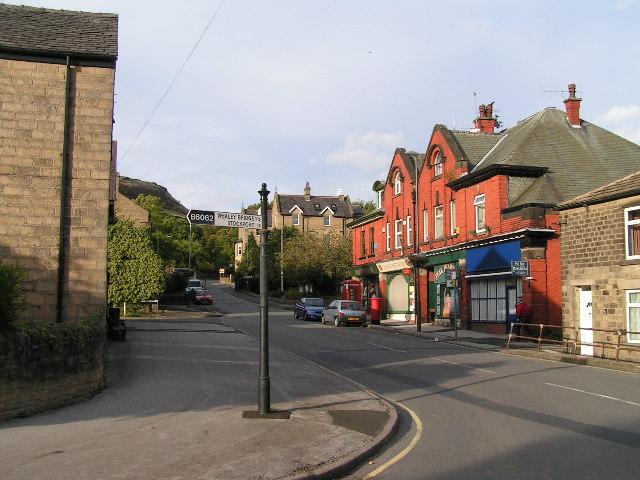 Chinley village centre