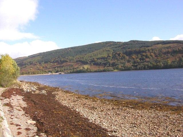 Inveraray north looking over Loch Shira