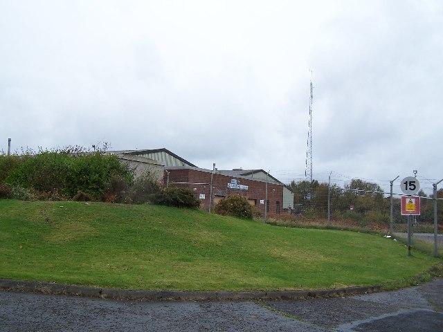 Claremont Plant & Radio mast