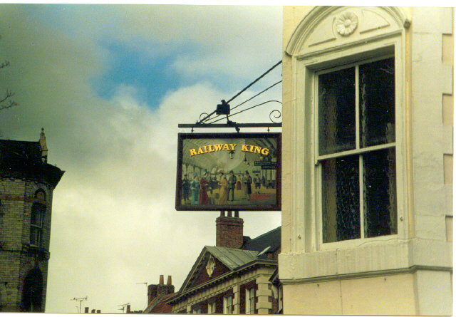 'The Railway King' pub, York