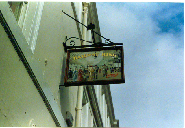 'Railway King' pub, York