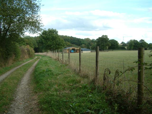 Track to Hasker's Farm
