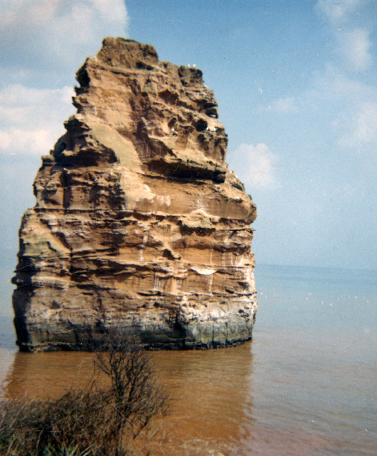 Ladram rock, Ladram Bay