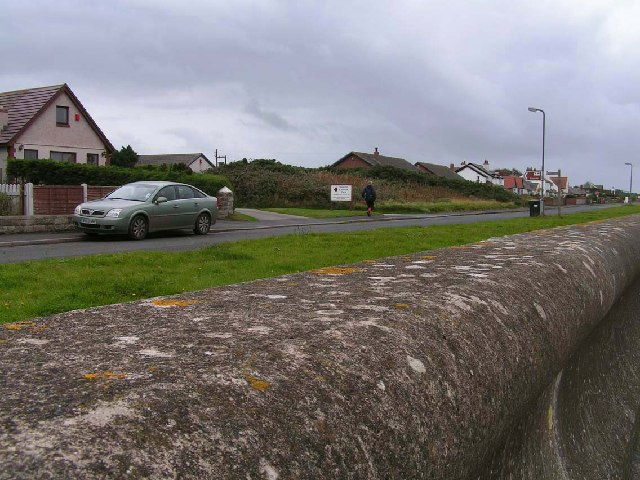 Sea Defences and housing, Silloth