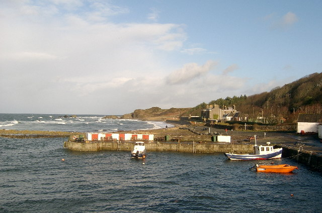 Dunure Harbour, Ayrshire